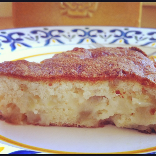 Photo French Apple Cake