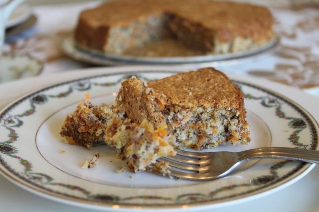 Carrot Almond Torte
