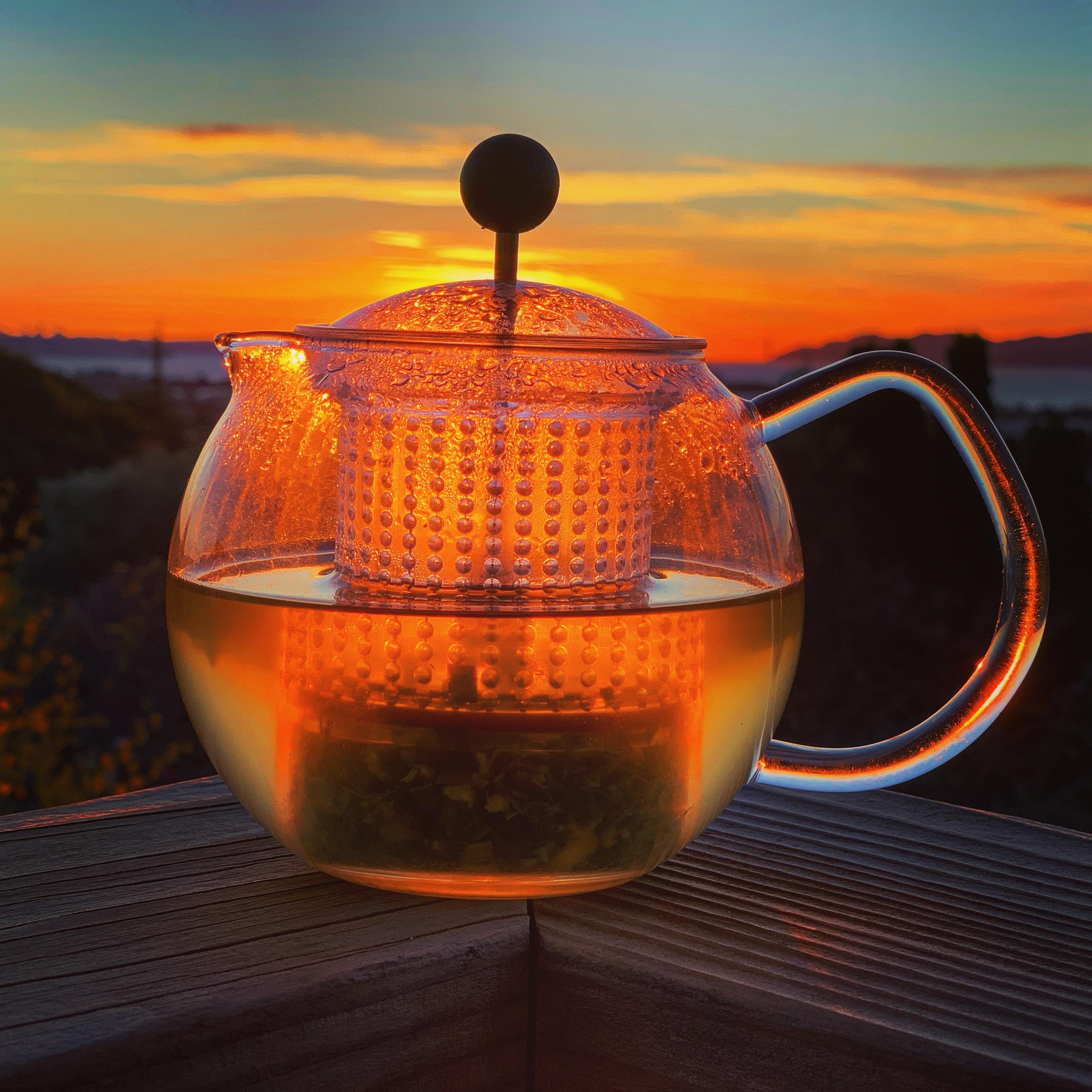 Sunset Tea Meditation